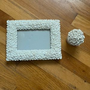 Frame & candle